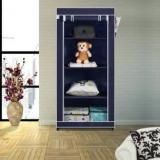 Flipkart Smartbuy Single Door 4 Shelf PP Collapsible Wardrobe