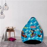 Flipkart Smartbuy XXL Micky Friends Bean Bag With Bean Filling