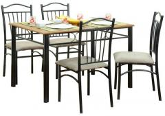 furniture dining dining sets furniturekraft four seater dining