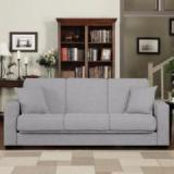 Furny Susanna Three Seater Double Solid Wood Sofa Bed