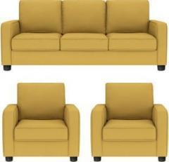 f81eb589dd Gioteak Fabric 3 + 1 + 1 YELLOW Sofa Set price in India July 2019 ...