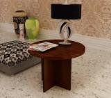 Home Sparkle Solid Wood Corner Table