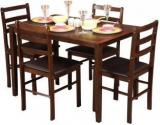 Hometown Bolton Solid Wood 4 Seater Dining Set