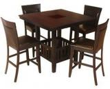 HomeTown Caren Four Seater Dining Set In Capuccino Finish