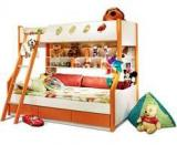 HomeTown Deccan Bunk Bed For Kids In Orange Color
