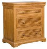 HomeTown Denver Chest Of Drawers In Brown Oak Colour