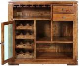 Hometown Leopold Solid Wood Bar Cabinet