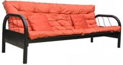 Hometown Rockford Metal Sofa Bed In Mauve Colour Price In