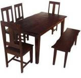 HomeTown Vienna Solidwood 6 Seater Dining Table