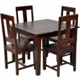 HomeTown Vienna Solidwood Four Seater Dining Set
