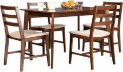 de7d2f411 Hometown Zina 4 Seater Dining Set Solid Wood 4 Seater Dining Set ...