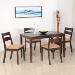 Nilkamal Bahamas Solid Wood 4 Seater Dining Set