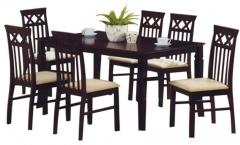 Nilkamal Barclay Dining Set 1 6 Cappucino Price In India September 2017 See