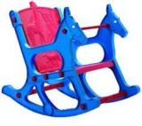 Nilkamal Jungle Kids Chair In Blue & Red Colour