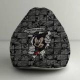 Orka XXL Mickey Breakout Digital Printed Bean Bag With Bean Filling