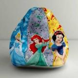 Orka XXL Princess Digital Printed Bean Bag With Bean Filling