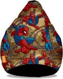 Orka XXL Ultimate Spiderman Digital Printed Bean Bag With Bean Filling