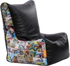Pleasing Orka Xxxl Marvel Comics Digital Printed Bean Bag Chair With Machost Co Dining Chair Design Ideas Machostcouk