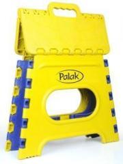Stupendous Palak Blue Yellow 18 Inch Portable Folding Plastic Step Creativecarmelina Interior Chair Design Creativecarmelinacom