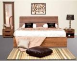 Peachtree Engineered Wood Bed + Side Table + Dressing Table