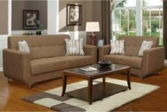 Marvelous Peachtree Fiesta Sofa Set Fabric 3 2 Dark Brown Sofa Set Machost Co Dining Chair Design Ideas Machostcouk