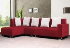 Swell Peachtree Zurich Elite Lhs Fabric Sectional Maroon Sofa Set Machost Co Dining Chair Design Ideas Machostcouk