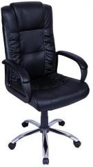 Stellar Spine High Back Executive Chair in Black Colour