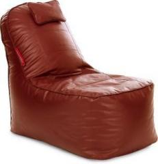 Style Homez XXXL Video Rocker Lounger XXXL Size Tan Color with Beans Lounger Bean Bag With Bean Filling