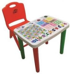 Surety For Safety Kids Seating Table & Chair Plastic Desk Chair
