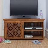 The Attic Jasmine Sheesham Solid Wood TV Entertainment Unit