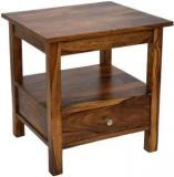 Timbertaste SIMPO Solid Wood Side Table