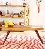 Woodsworth Arlington Coffee Table In Dual Tone Finish