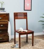 Woodsworth Charleston Solid Wood Dining Chair In Honey Oak Finish