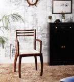 Woodsworth Dvina Arm Chair In Provincial Teak Finish