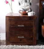Woodsworth Edmonds Bed Side Table In Provincial Teak Finish