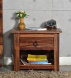 Woodsworth Enumclaw Bed Side Table In Provincial Teak Finish