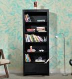Woodsworth Freemont Book Shelf With Two Drawers In Espresso Walnut Finish