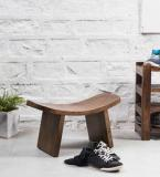 Woodsworth Kennewick Stool In Provincial Teak Finish