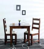 Woodsworth Leander Two Seater Dining Set In Provincial Teak Finish
