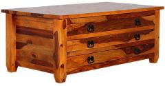 Woodsworth Maraicaibo Large Coffee Table In Colonial Maple
