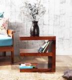 Woodsworth Olney End Table In Provincial Teak Finish