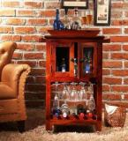 Woodsworth Palmira Bar Unit In Honey Oak Finish