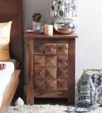 Woodsworth Reno Bedside Table In Provincial Teak Finish