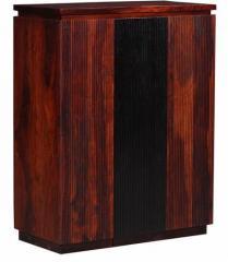 Woodsworth Rio Branco Bar Cabinet In Dual Tone Finish Price In India