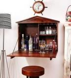 Woodsworth Santa Iria Bar Cabinet In Provincial Teak Finish