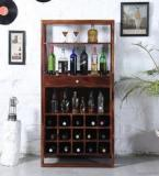 Woodsworth Toledo Bar Unit In Provincial Teak Finish