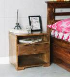 Woodsworth Winona Bed Side Table In Provincial Teak Finish