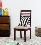 Woodsworth Winona Dining Chair In Passion Mahogany Finish