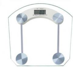 Active Digital Bathroom Weighing Scale 8mm Thick Gl