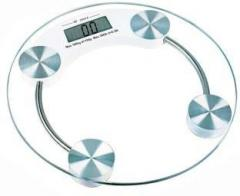 Webelkart Thick Tempered Glass Electronic Digital Personal Bathroom Health Body Weight Weighing Scale